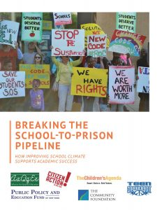 Breaking the School to Prison Pipeline Report Cover