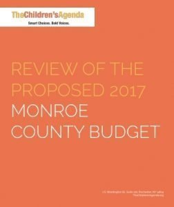 2017 Monroe County Budget Review Cover