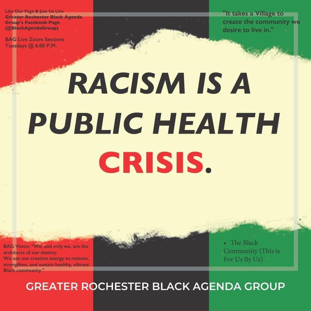Racism as a public health crisis